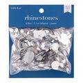 hildie & jo 650 pk Assorted Plastic Crystal Flat Back Rhinestones