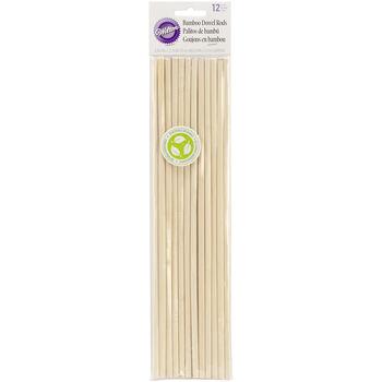 Wilton Bamboo Dowel Rods 12pk