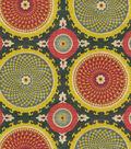 Waverly Upholstery Fabric 54\u0022-Bohemian Swirl/Fiesta