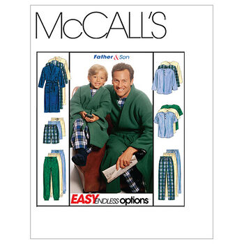 McCall's Father & Son Sleep & Lounge-M6236