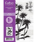 Crafter\u0027s Companion Sheena Douglass Clear Acrylic Stamps-Wild at Heart
