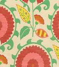 Home Decor 8\u0022x8\u0022 Fabric Swatch-Waverly Flor Feliz Carnival