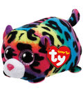 TY Beanie Boo Multi Color Leopard-Jelly