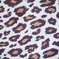 Novelty Cotton Fabric -Cheetah Brown