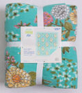 No Sew Fleece Throw Kit 72\u0027\u0027-Floral Chains