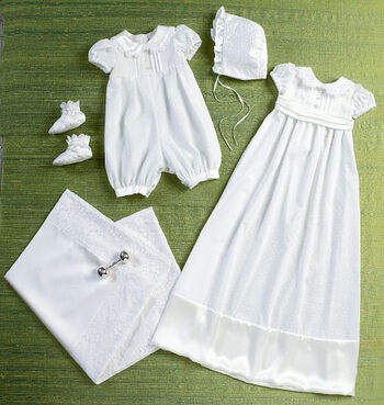 Butterick Pattern B6045 Infants' Romper, Dress & Accessories-Size NB-XL