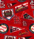 St. Louis Cardinals Fleece Fabric-Vintage