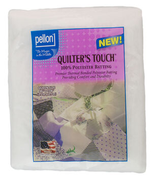 """Pellon Quilter's Touch Polyester Batting 96""""x108"""""""