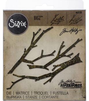 """Sizzix Bigz Die By Tim Holtz 1.5"""" To 6.25""""-Branches"""
