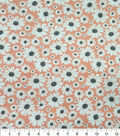 Quilter\u0027s Showcase Cotton Fabric-Daisies Coral