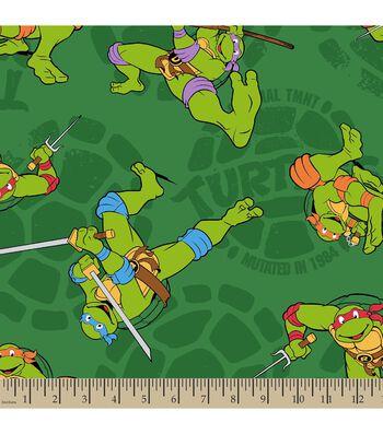 Teenage Mutant Ninja Turtles Print Fabric-1984