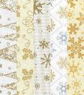 Jelly Roll Cotton Fabric 2.5\u0022-Christmas 3