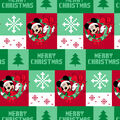 Disney Mickey Mouse Cotton Fabric-Ugly Sweater
