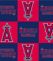 Los Angeles Angels Fleece Fabric -Block, , hi-res