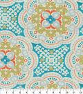 Waverly Upholstery Fabric 13x13\u0022 Swatch-Astrid Aqua