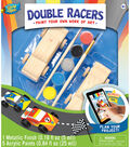 Works of Ahhh Double Racers Real Wood Painting Kit