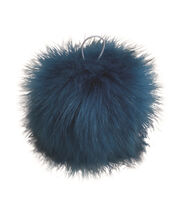 Buttercream Pom Pom-Turquoise, , hi-res
