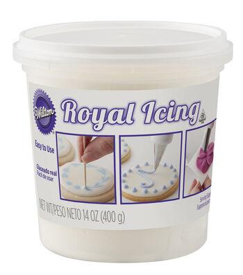 Wilton 14oz Royal Icing-White