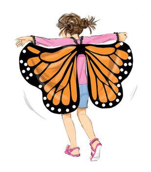 McCall's Pattern M7491 Kids' Bat, Butterfly or Fairytale Wings