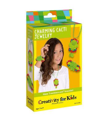 Creativity for Kids Charming Cacti Garden Jewelry