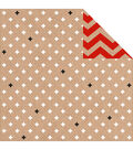 Kaisercraft Mix & Match Crosses Double-Sided Cardstock