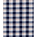 Quilter\u0027s Flannel Fabric- Navy & Tan  Preppy Plaid