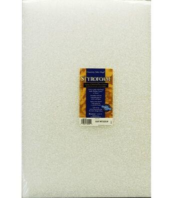 "2""x12x18"" Styrofoam Block-1PK/White"