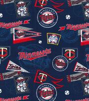 Minnesota Twins Cotton Fabric-Vintage, , hi-res