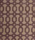 Home Decor 8\u0022x8\u0022 Fabric Swatch-Jaclyn Smith Formal  Hydrangea