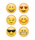 Emojis 3in Cutouts 36/pk, Set of 6 Packs