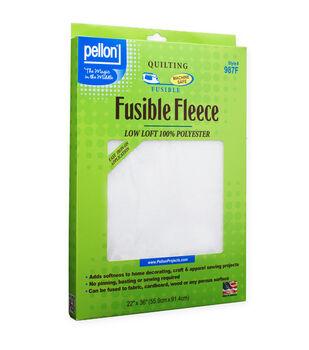 Fusible Fleece Wht