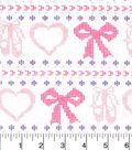 Snuggle Flannel Fabric -Ballerina Fair Isle
