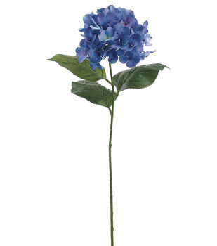"Bloom Room 30"" Hydrangea Stem-Blue"