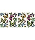 Wall Pops Glow in the Dark Butterflies Appliques, 32 Piece Set