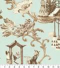 P/K Lifestyles Upholstery Fabric 54\u0027\u0027-Opal East of the Moon