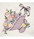 Fairway Stamped Quilt Blocks Flower Bonnet