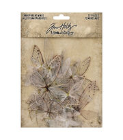 Tim Holtz Idea-Ology Transparent Acetate Wings 72/Pkg, , hi-res