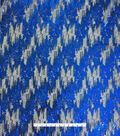 Casa Embellish Gardinia Sequin Fabric 49\u0027\u0027-Storm Dazzling Blue