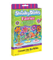 Creativity for Kids Shrinky Dinks Fairies Mini Kit, , hi-res
