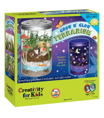 Creativity For Kids Grow 'N Glow Terrarium Kit