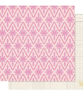 Maggie Holmes Willow Lane Double-Sided Cardstock 12\u0022X12\u0022-Adore