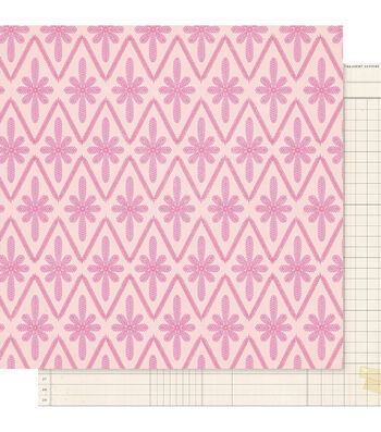 """Maggie Holmes Willow Lane Double-Sided Cardstock 12""""X12""""-Adore"""