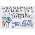 Pacon 25-sheet Ruled Colored Paper Chart Tablet with Manuscript Cover