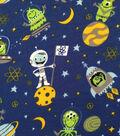 Doodles Cotton Fabric -Aliens