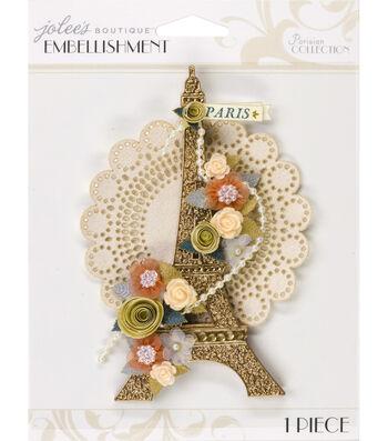 Jolee's Boutique Parisian Eiffel Tower Embellishment