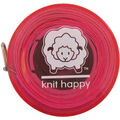 Knit Happy Tape Measure 60\u0022-Pink
