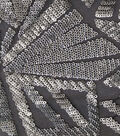 Case Embellish Matte Sequin Fabric -Silver