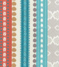 Genevieve Gorder Multi-Purpose Decor Fabric 54\u0027\u0027-Abodo Ancient Stripe