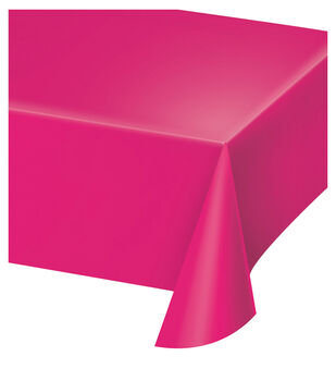 Table Cover-Bright Pink