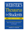 Webster's Thesaurus for Students, Third Edition, Pack of 6